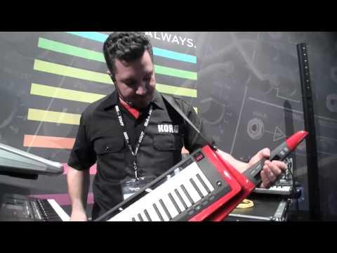 NAMM 2014: Korg's New Keytar