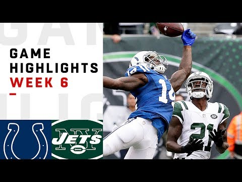 Colts vs Jets Week 6 Highlights  NFL 2018