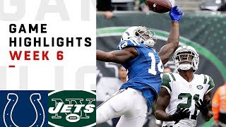Colts vs. Jets Week 6 Highlights | NFL 2018