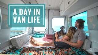 VAN LIFE VLOG Day In The Life - San Diego | 40 Hours of Freedom