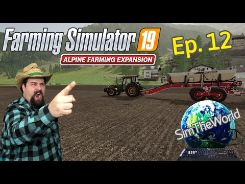 GIVE US BACK OUR MONEY!!!! - Farming Simulator 19 Alpine Ep. 12  