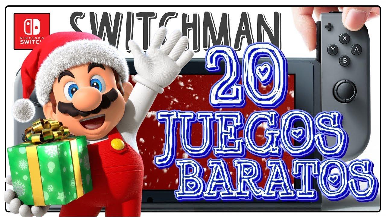 20 Juegos Baratos Y Muy Buenos De Nintendo Switch Youtube