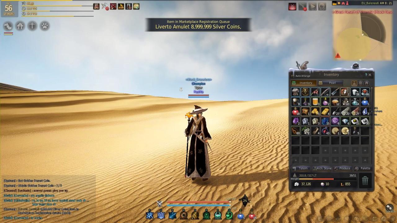 bdo obtain golden desert coin