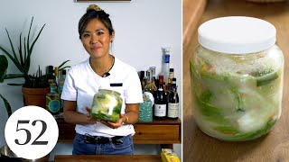 How To Make Whİte Kimchi | At Home With Us