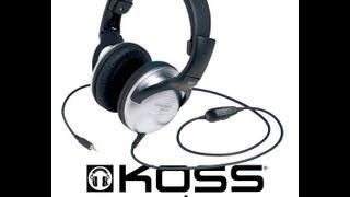 koss Ur/29 Stereo Headphones Review