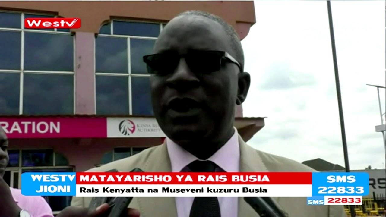 Matayarisho ya kumpokea Rais Kenyatta Busia