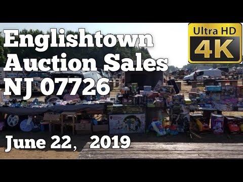 【4K】Walking Tour Of Englishtown Flea Market NJ 07726