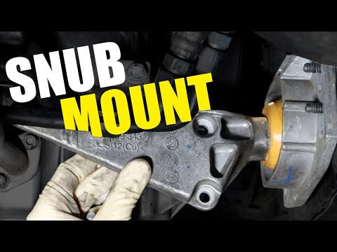 How to Replace a Snub Mount on a B7 Audi A4