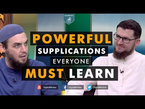 Powerful Supplications Everyone Must Learn - Tim Humble & Ismail Bullock