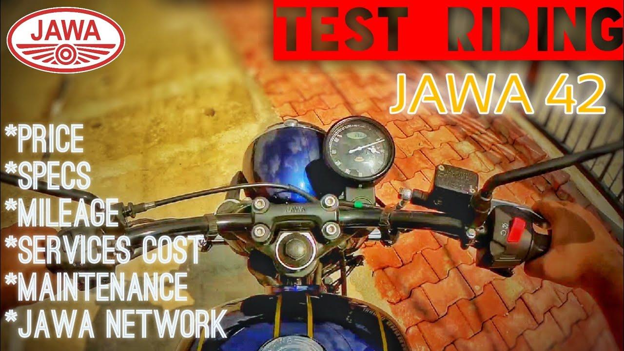 Jawa 42 Test Ride | Mileage, Service Cost, maintenance, Price, JAWA Network