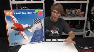 E-Flite UMX Gee Bee R2 Unboxing & Review
