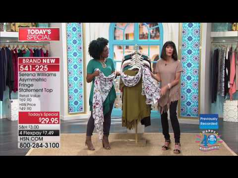 HSN | SERENA WILLIAMS Signature Statement Fashions Celebration 07.21.2017 - 04 AM