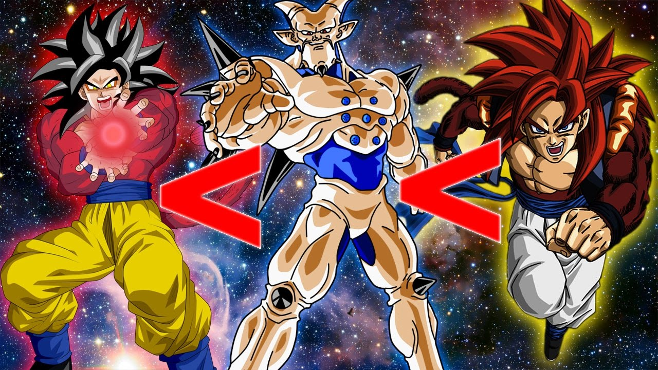 the definitive dragonball gt power scale youtube