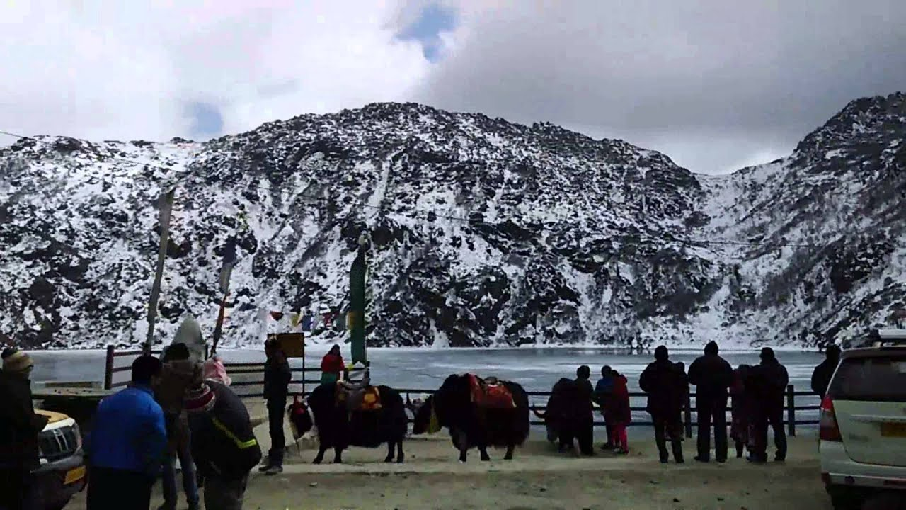 Image result for North Sikkim snowfall hd