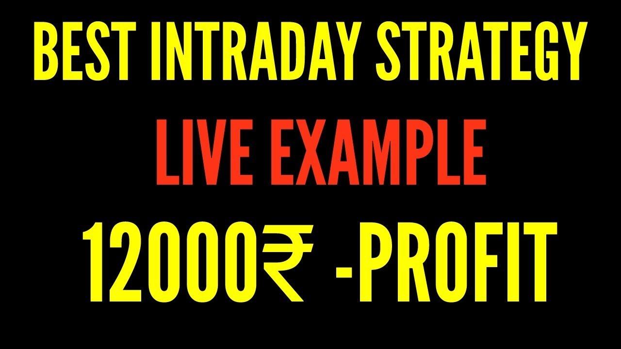Intraday trading strategies pdf in hindi