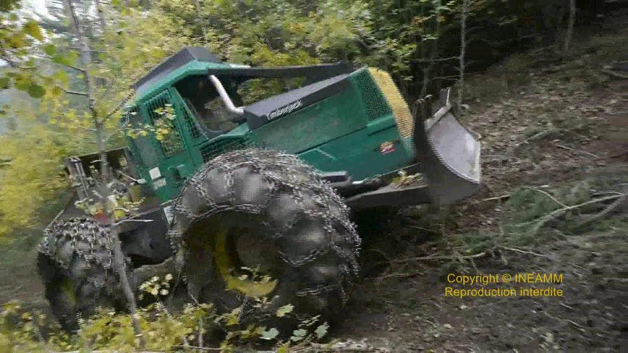 tracteur forestier timberjack 460