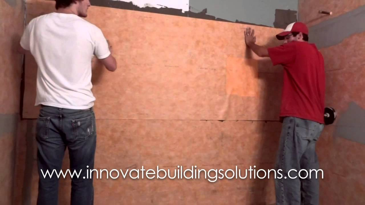 How To Waterproof A Tile Shower Or Tub Using A Kerdi Backboard System  Cleveland Columbus Cincinnati