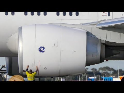 40+ VERY CLOSE UP Engine Spool Ups | Melbourne Airport Plane