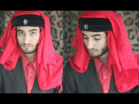 How To Tie Turban Like The Mummy Style | Egyptian Look Headscarf Tutorial | Amaan Ullah