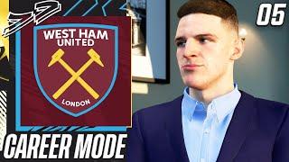 DECLAN RICE SIGNS MEGA CONTRACT!!✅ - FIFA 21 West Ham Career Mode EP5