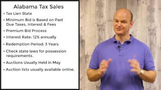 Alabama Delinquent Tax Property For Sale