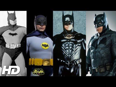 BATMAN - EVOLUTION (1943 - 2018) : THE BEST SCENES