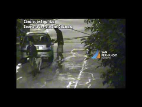 Robo de auto y fuga - San Fernando