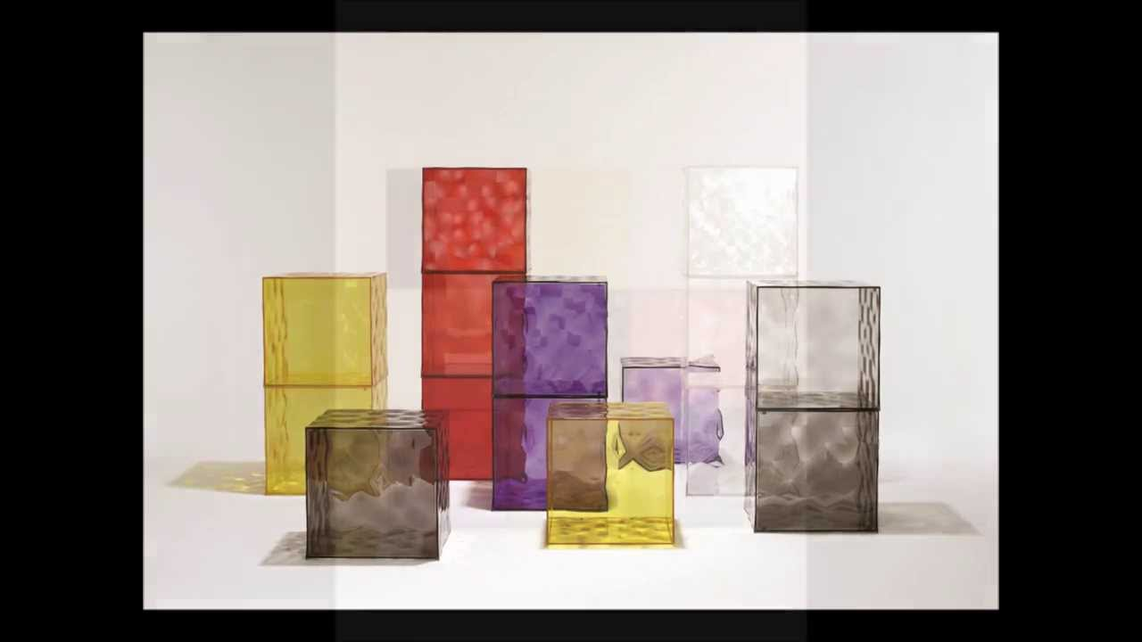 Kartell Optic Storage Cubes   Ice Interiors