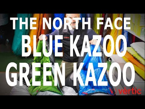 64cd1a5ee The North Face Blue Kazoo y The North Face Green Kazoo