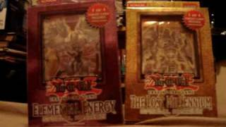 Opening Yugioh Booster Packs