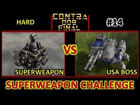 Contra 009 Final - SuperWeapon Challenge 014 Vs USA Boss - Hard