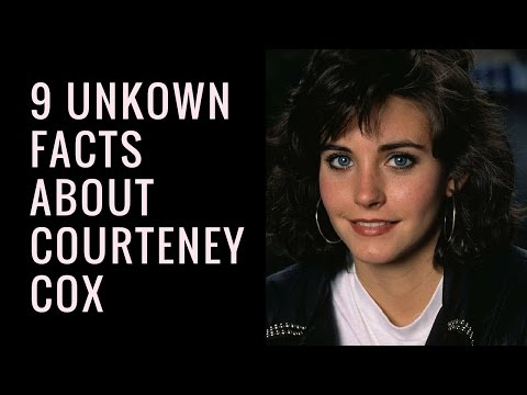 Courteney Cox Unknown Facts | Things You Did Not Know About Courteney Cox