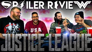 """Justice League"" In-Depth SPOILER DISCUSSION!!"