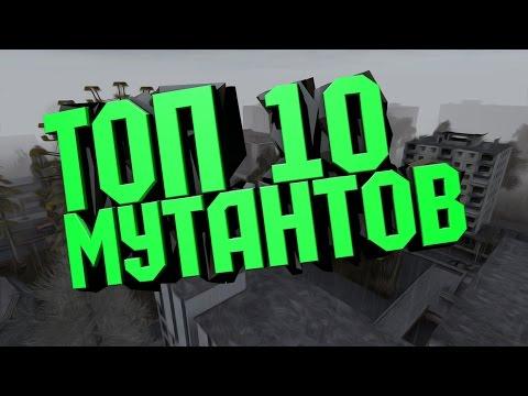 ТОП 10 МУТАНТОВ В STALKER