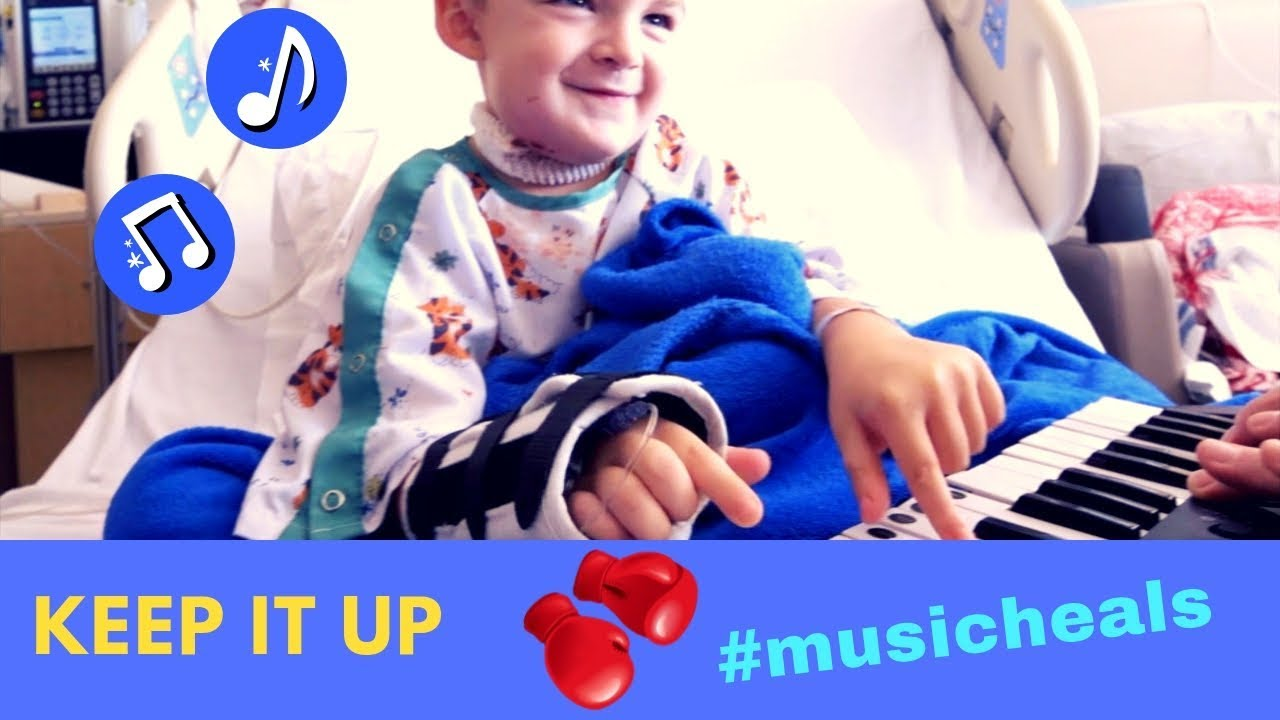 Keep It Up Inspirational Song Childhood Cancer Awareness 123