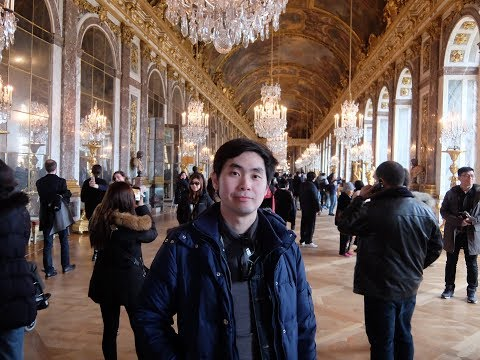 Europe On Tour with iPhone EP.8 Palace Versailles and Night Paris in France 🇫🇷