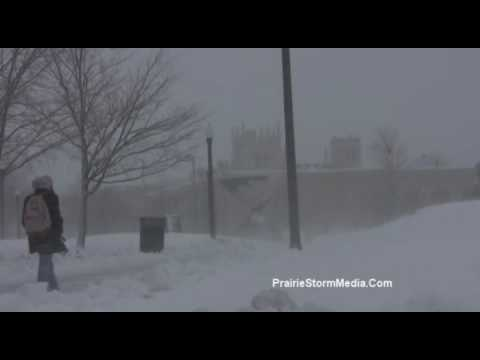 Extreme winter conditions from Northern Illinois University!