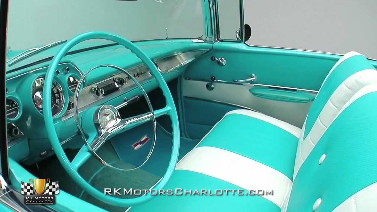 133282 1957 chevrolet bel air youtube. Black Bedroom Furniture Sets. Home Design Ideas