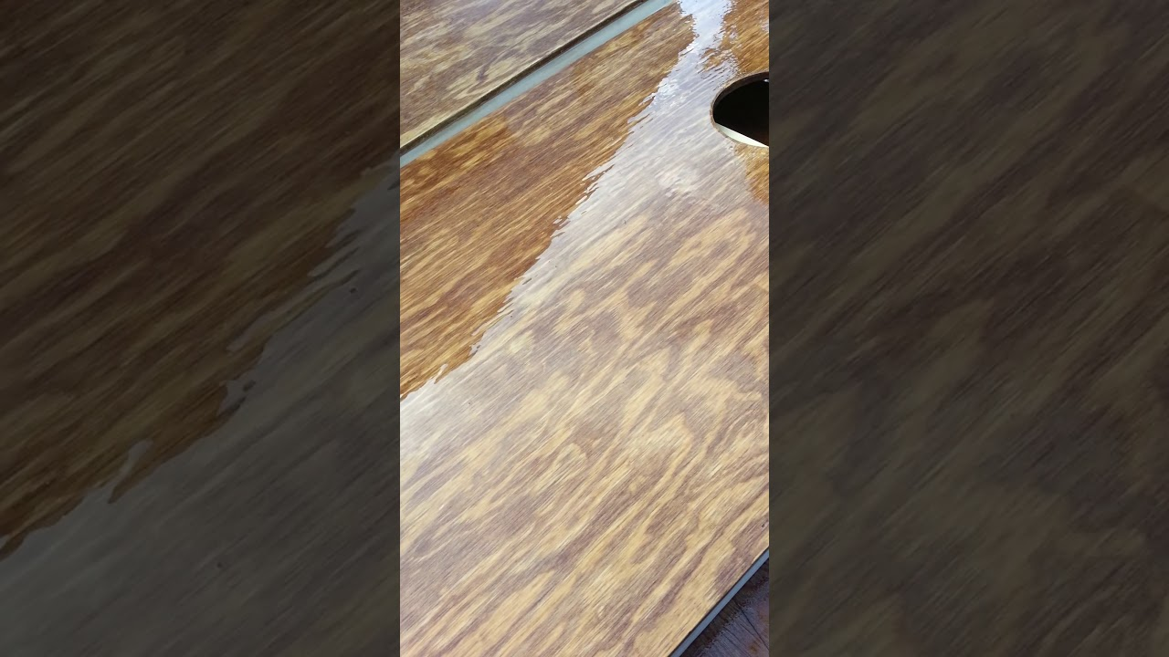 Spray Wood Stain With Hvlp   Wooden Thing