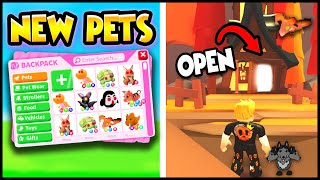 The NEW HALLOWEEN PETS Coming To ADOPT ME!! Plus HACKS! Halloween Update Adopt Me! Prezley