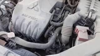 Mitsubishi Lancer X 1.6 MT (117 к. с.) проблема з двигуном