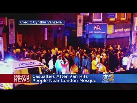 Van Slams Into Pedestrians Near London Mosque
