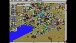 SimCity 2000 special edition - pure gameplay - I play it until it fail... (no commentary)