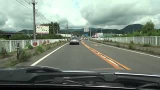 国道13号 その1 福島県福島市→山形県米沢市