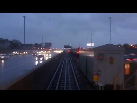 Chicago (L) Series - CTA Red Line - Adams/Wabash to Dan Ryan/95th via Orange Line Bypass - 11/4/18