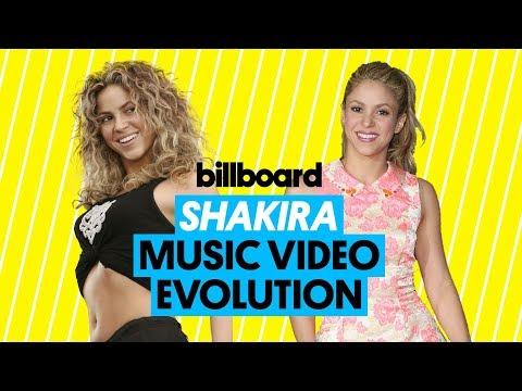Shakira Music Video Evolution: 'Magia' to 'Nada' | Billboard