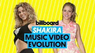 Shakira Music Video Evolution: 'Magia' to 'Nada' | Billboard