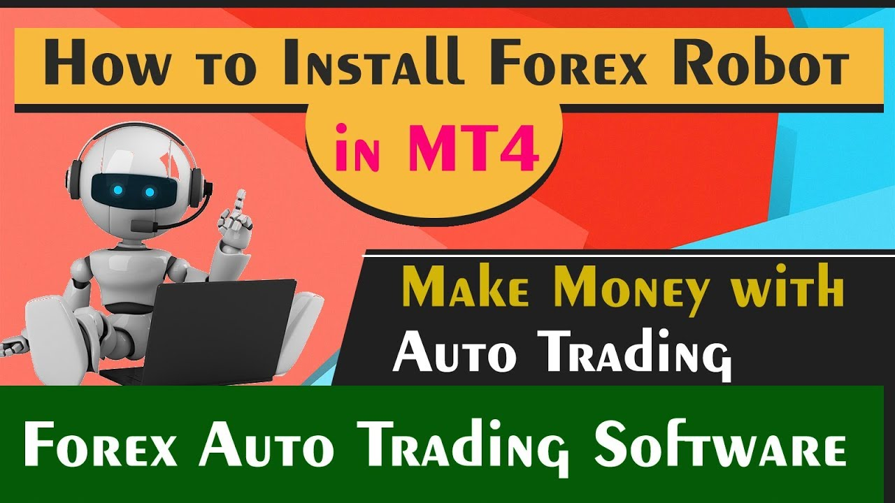 How to Install forex robot in mt4 - Install forex robot on vps server -  forex auto trading robot