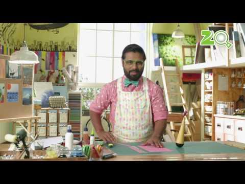 The Art Room - DIY Tissue Paper Butterfly, Lambu Bhai and Pom Pom Fruit | DIY Crafts for Kids