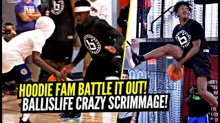 It Got WILD at The Ballislife All American Scrimmage!! Anthony Edwards, Tre Man & More!!